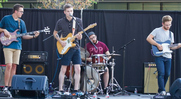 Students perform at the Bearfoot Music Festival held July 17 on SLCC South City Campus