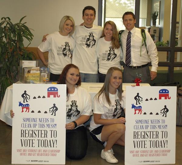 SL&L voting registration crew
