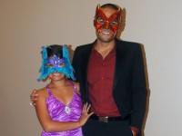 Chris Moa, right, and Izika Morales