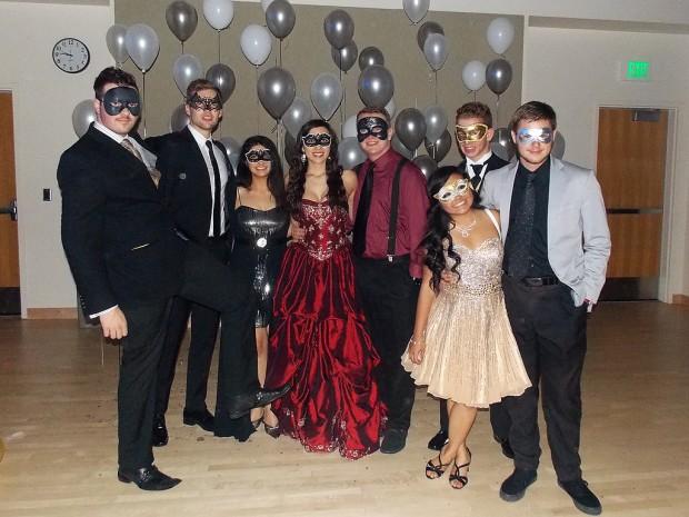 Group at Masquerade Ball