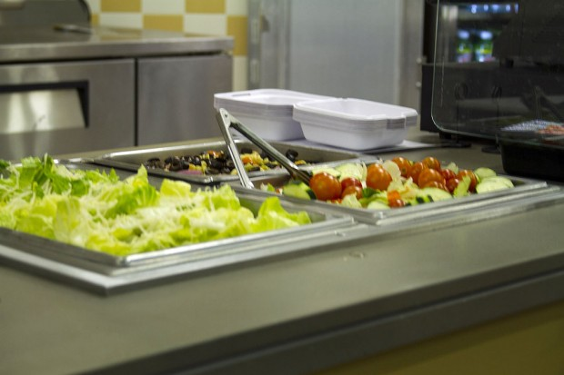 South City Campus salad bar