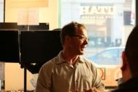 Mark Davis represents SLCC at The Hub at Sundance