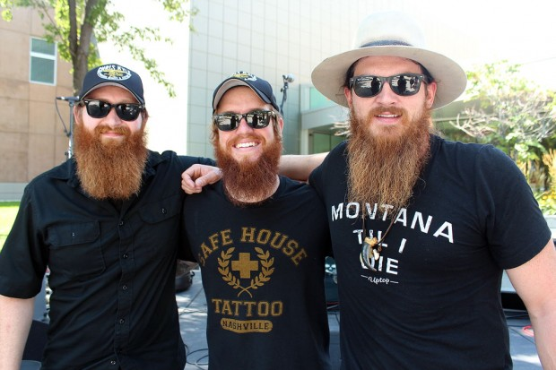 Tim Montana and the Shrednecks group photo