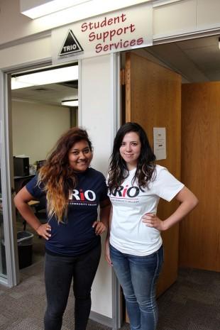 Martha Alvarez and Irene Garcia from TRiO