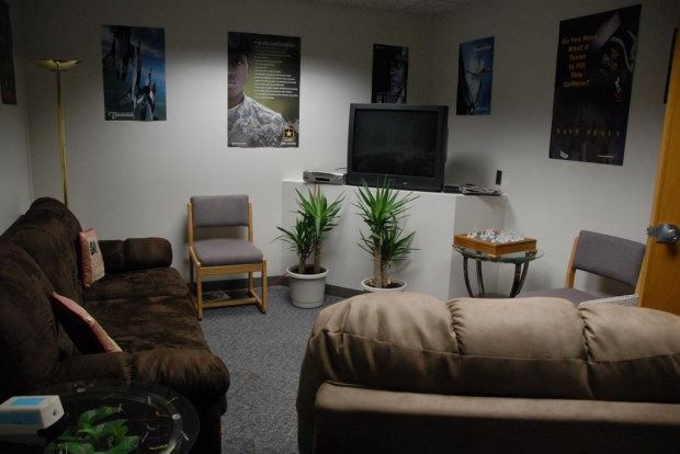 Lounge of the Veterans Center at the Taylorsville-Redwood Campus