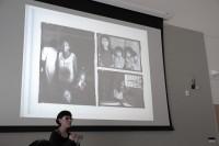 Natalia Deeb-Sossa and black and white photos