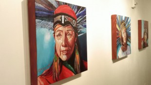 Ruby Chacon native oil paintings