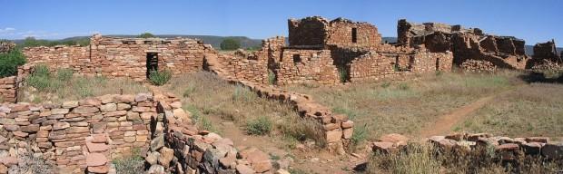 Hopi ruins in Arizona