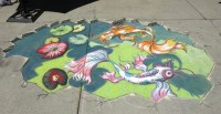 Koi Pond by 12-year-old Jonha Nielson of SLC Art Academy