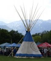 Native American tepee