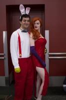 Roger Rabbitt and Jessica Rabbitt