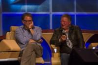 William Shatner, left, and Jonathan Franks