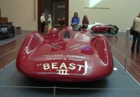 """Front view of the """"Beast III"""" race car"""