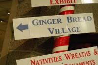 Ginger Bread Village sign