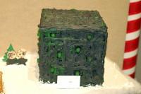 Borg Cube gingerbread house