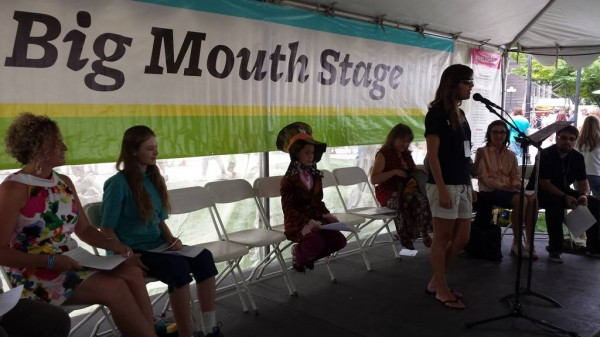 The Big Mouth Stage at the Utah Arts Festival