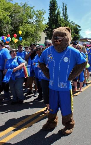 Bruin Bear at 2015 Pride