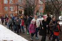 Marching away from Westminster College