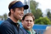 Brad Pitt and Jonah Hill in 'Moneyball'.