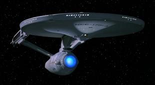 An image of the USS Enterprise from Star Trek