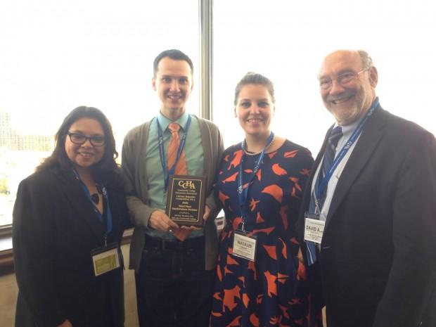 SLCC Folio receives CCHA award