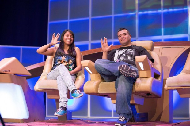 Marilei and Julio Puentes at FanX