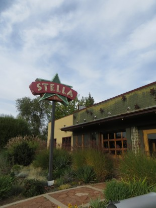 The exterior of the Stella Grill