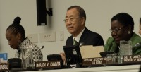 Photo of Mr. Ban Ki-moon, Secretary General of the United Nations