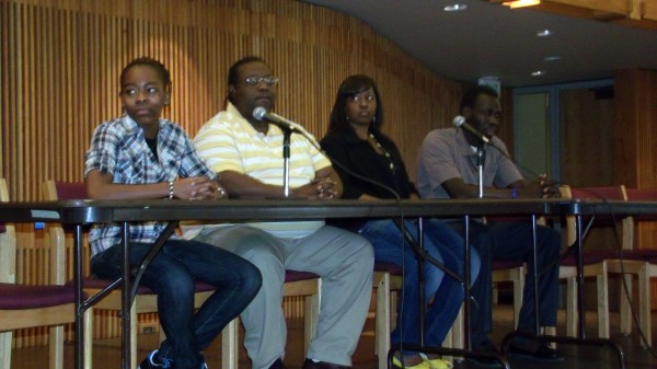 Black Student Union discussion panel, Feb. 2012