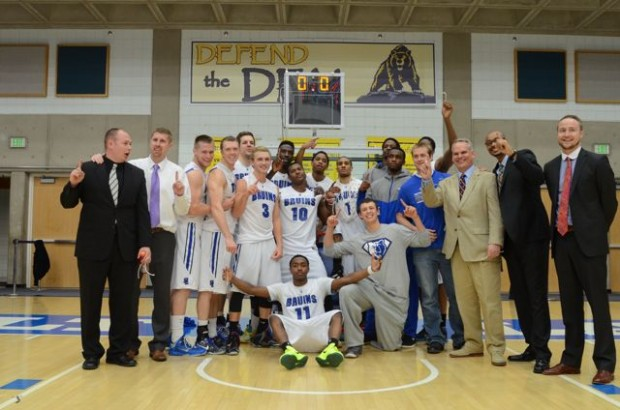 SLCC Men's basketball - District I champions