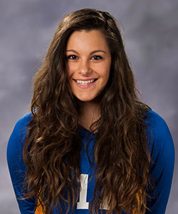 Italian Freshman Bruins Volleyball player Ailin Donati