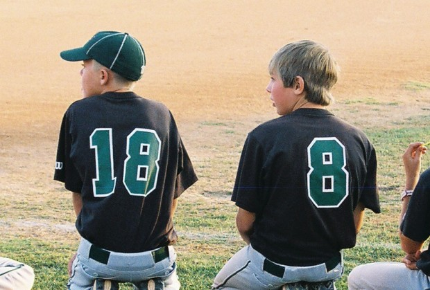 Trevor Peterson, left, and Joe Barlow