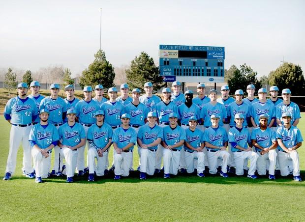 SLCC Baseball team photo